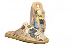 Zapatillas casa Homer Simpon barbacoa