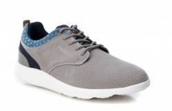 Zapatillas casuales BASS 3D gris-1