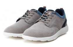 Zapatillas casuales BASS 3D gris-2
