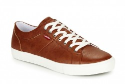 Zapatillas casuales Levi´s Woodward marrón