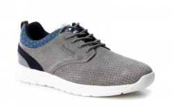 Zapatillas casuales Refresh gris