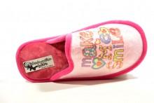 Zapatilla de casa de mujer rosa de relax o descanso - Pisos relax madrid ...