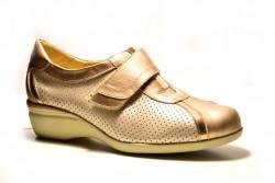 c6f26dcb Doctor CutillasOFERTA Zapato Doctor Cutillas con velcro de piel beig pico