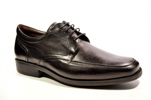 c4122d94 Zapato atado de Fluchos Rafael Brass 7995 Negro Light
