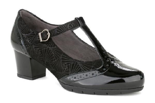 Zapatos Charol Tacón Negro Pitillos 5270 HBwUBrqnX